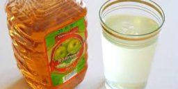 Яблучний оцет допоможе від болю в горлі